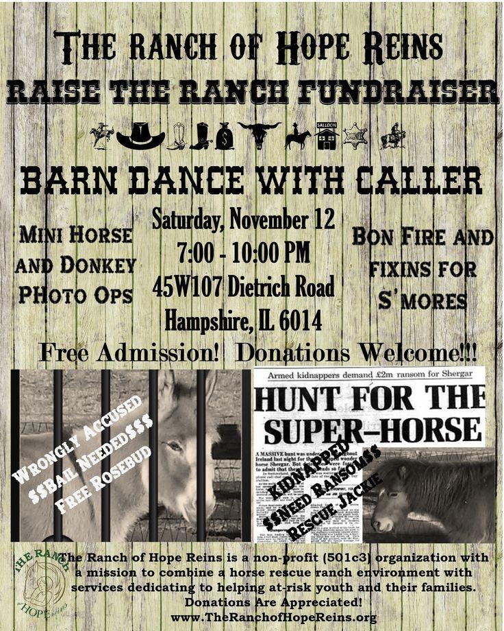 Friday Nights With The Horses & November 12 Barn Dance