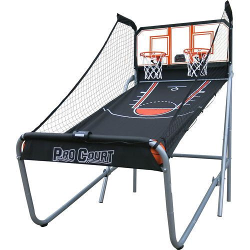 New 2 Player Indoor Hoop Backboard Basketball Game Room Set Arcade Style Sturdy | eBay