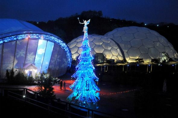 Christmas at the Eden Project, Cornwall/