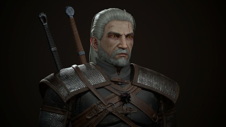 위쳐3 #3d #substancepainter #3dmax #marmoset3 #witcher3 #geralt 위쳐3 #3d #substancepainter #3dmax #marmoset3 #witcher3 #geralt