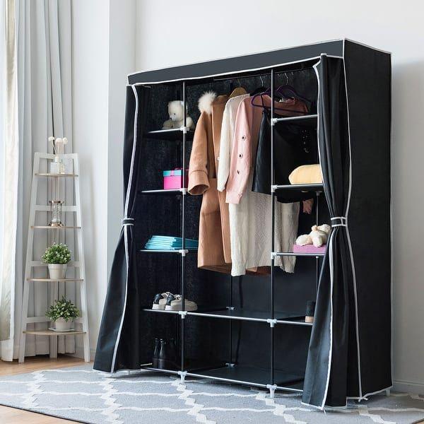 Overstock.com: Online Shopping - Bedding, Furniture, Electronics, Jewelry,  Clothing & more   Clothes closet, Wardrobe storage, Closet storage