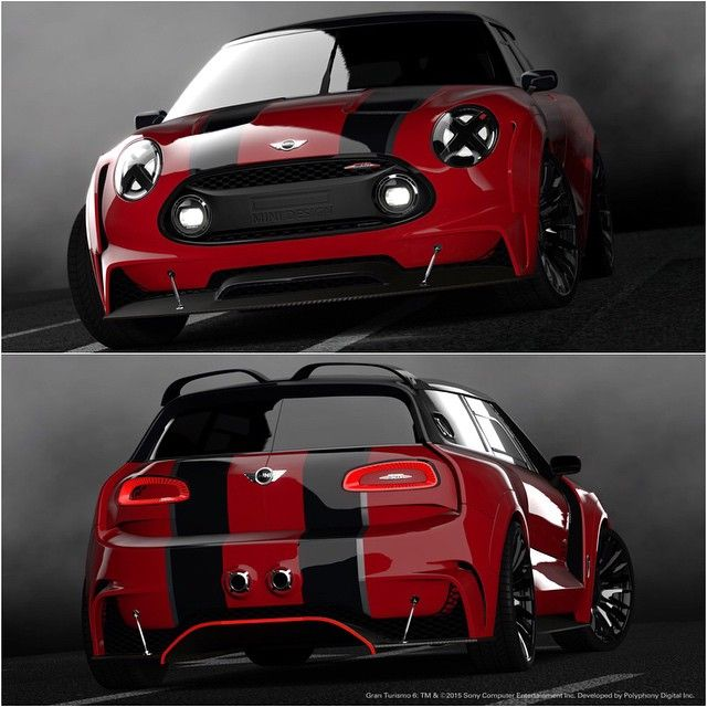 """""""What do you think of the new @MINI Clubman Vision Gran Turismo concept? 