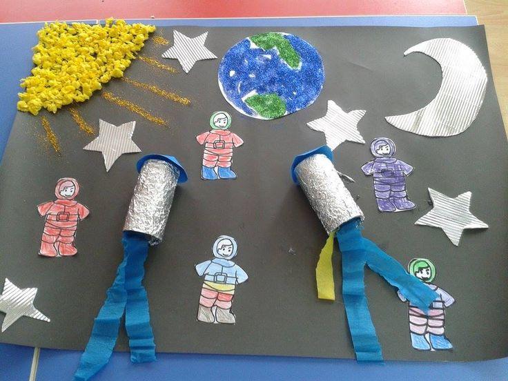26 Best Astronaut Craft Ideas Images On Pinterest