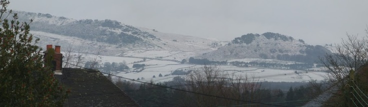 This is the Roaches in the Staffordshire Moorlands as seen in December. They are always the first place to get snow covered.