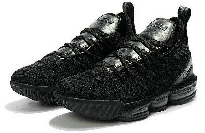 Nike LeBron 16 XVI Triple Black