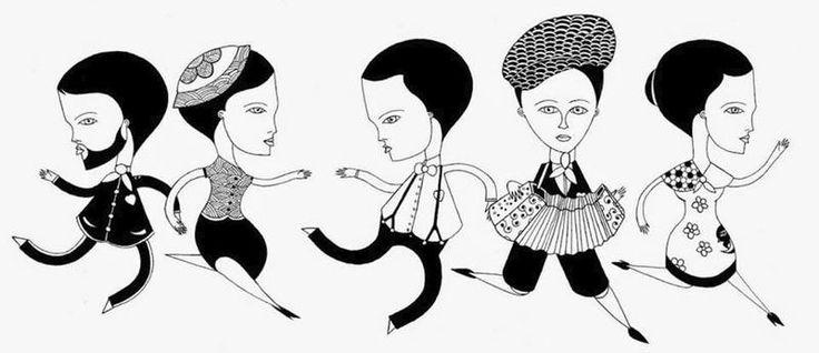 Arts Graphiques | Fred le Chevalier | Si le monde sonne faux, on jouera plus fort | Tirage d'art en série limitée sur L'oeil ouvert