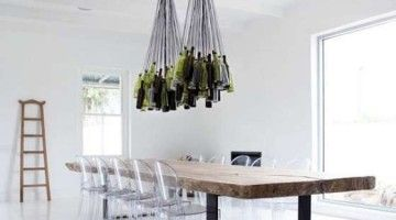 Woontrendz-lamp-van-oude-wijnflessen