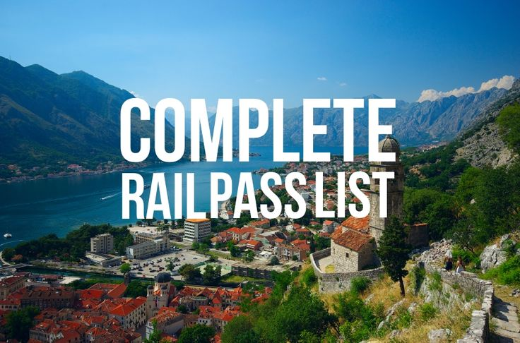 This is it: our complete, A to Z listing of European rail passes. Happy planning! http://www.raileurope.com/rail-tickets-passes/europe-rail-pass-list/
