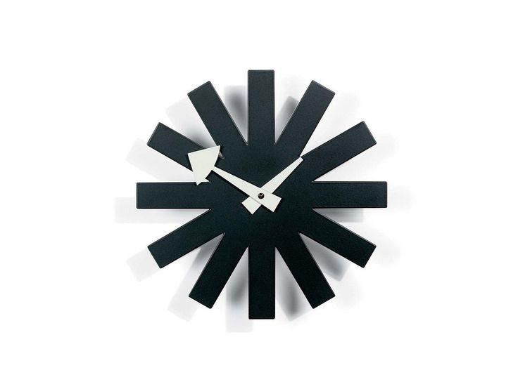 George Nelson Asterisk Wall Clock