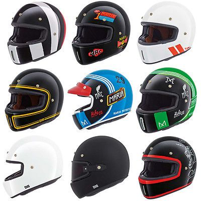Nexx XG100 Retro Cafe Racer Full Face Motorcycle Helmet | All Colours & Sizes