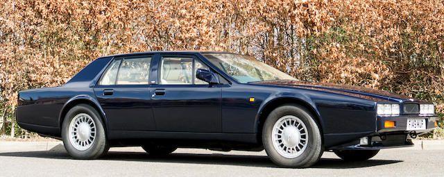 1989 Aston Martin Lagonda Series 4 Saloon Chassis No Scfdl01s5ktr13588 Aston Martin Lagonda Aston Martin Aston