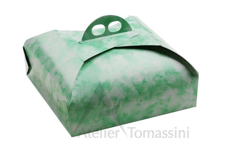 Spatolato Verde #packaging #ateliertomassini #portatorte #pasticceria #scatola #pastry #bakery #design #politenata #politenate #imballaggio #bakery #PE-protect