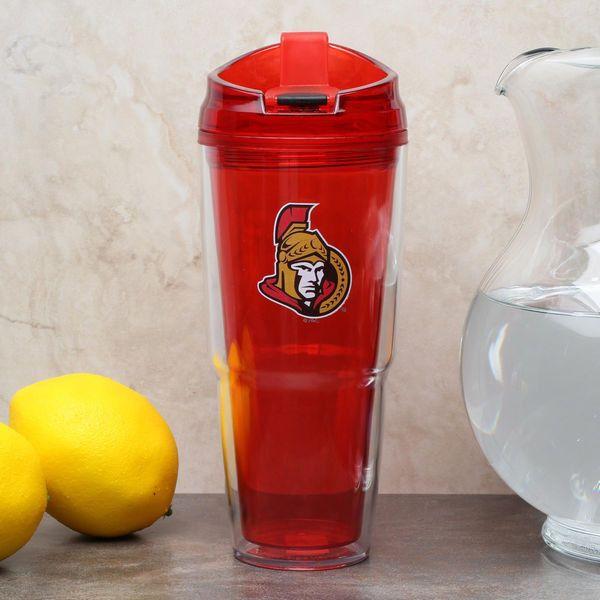 Ottawa Senators 22oz. Insulated Tumbler - Red