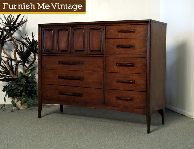 Vintage Broyhill Emphasis Magna Dresser Mid Century Modern Home Pinterest Modern Mid