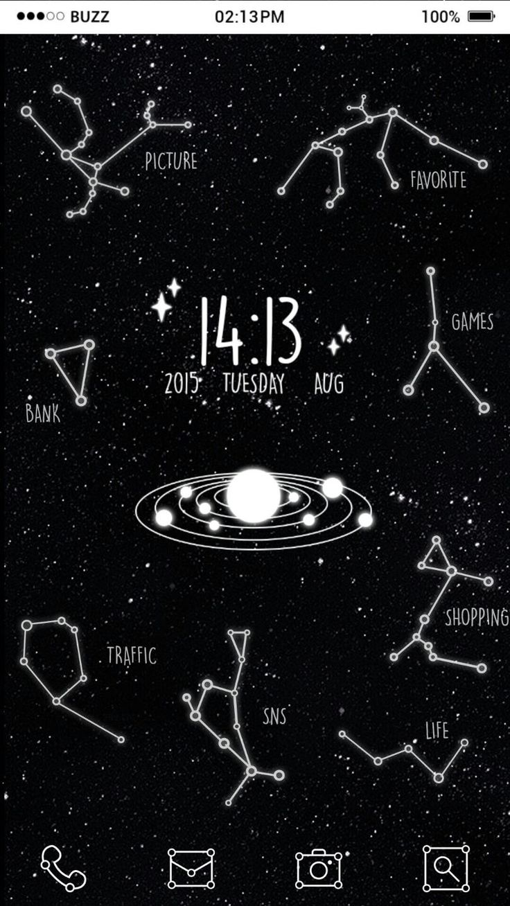 [Homepack Buzz] Check out this awesome homescreen! sexyhye 우주에 있는 별자리 컨셉 홈팩  3페이지에 'constellation fortune' 눌러서 매일매일 별자리 운세 확인 가능해요    #별자리 #운세 #별자리운세 #우주 #별자리아이콘 #아이콘