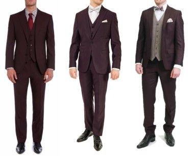 Burgundy-Wedding-Suit-Trends-2016-2017-Ireland-weddingsonline