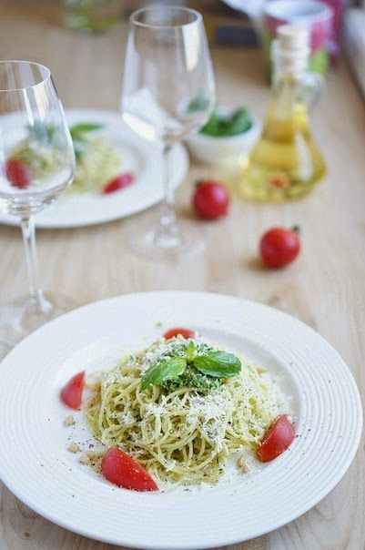 Pesto Sauce Recipe ~ Food Network Recipes