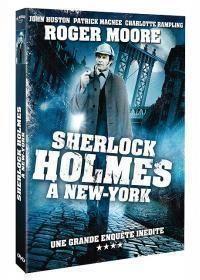 Sherlock Holmes à New York    Directeurs: Boris Sagal    Année: 1976 - Genre: Policier - Durée: 95 m.    Pays: USA - Langues: Français    Acteurs: Roger Moore, Patrick Macnee, Charlotte Rampling, John Huston, David Huddleston, Signe Hasso