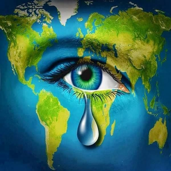 """""""We're at war with nature. If we win it, we're lost."""" - Hubert Reeves #EndEcocide -"""
