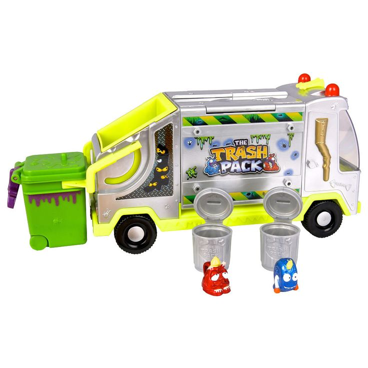 Trash Can Toys R Us : Trash pack metallic garbage truck moose toys quot r