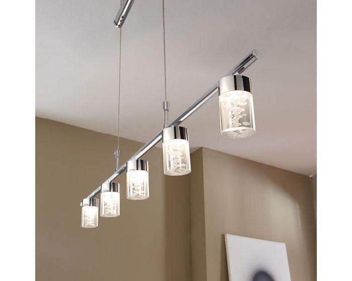 Lustr LED WOFI WO 7806.05.01.0000 (MAAR) | Uni-Svitidla.cz Moderní #lustr do interiéru s paticí LED pro světelný zdroj od firmy #Wofi, #lustry, #chandelier, #chandeliers, #light, #lighting, #pendants