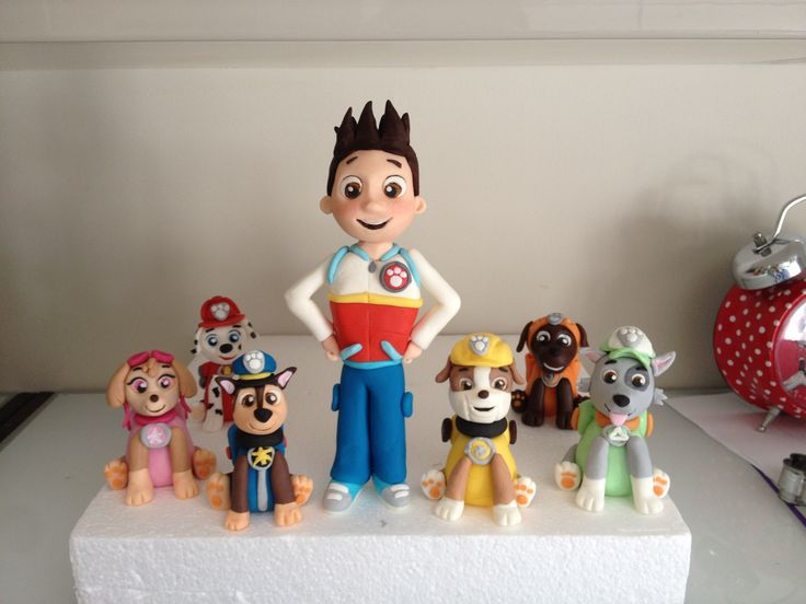 Kids Toys Action Figure: Best 25+ Paw Patrol Cake Toppers Ideas On Pinterest
