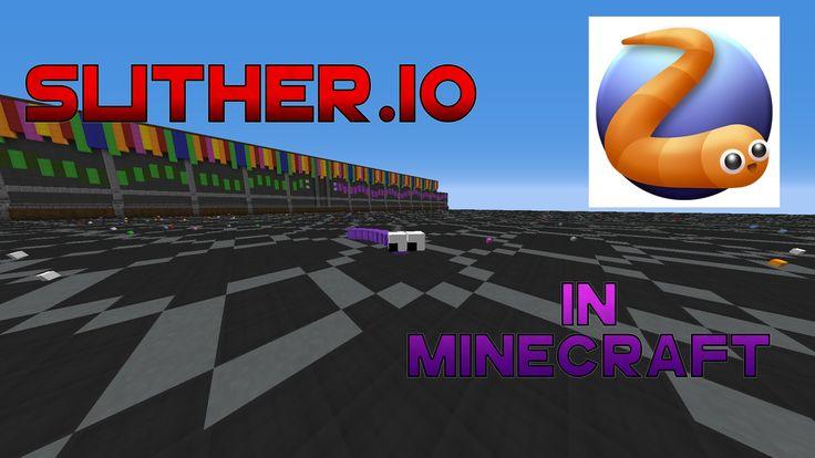 Slither.io in Minecraft(SERVER)[Deutsch/HD]