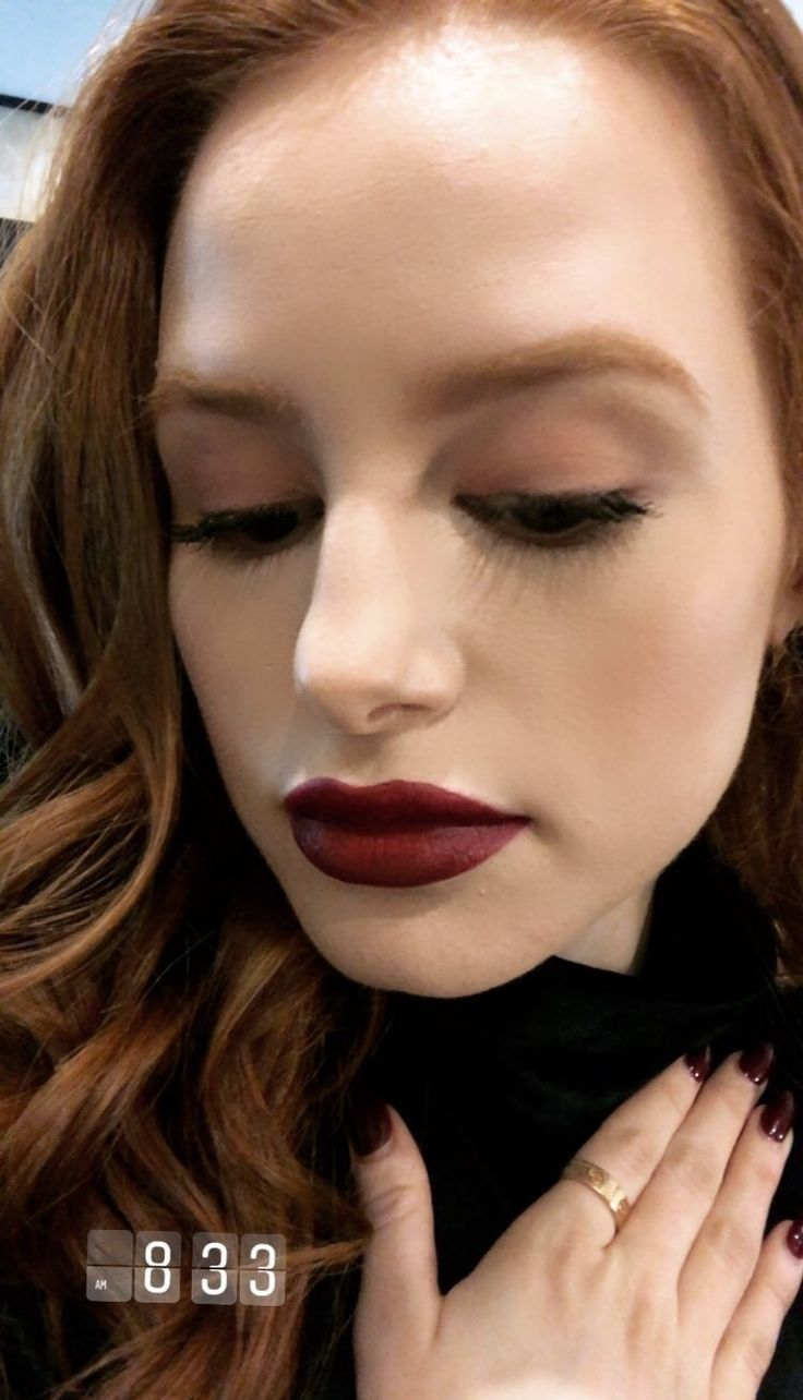 That Lipstick Looks Like It's Made With Blood And I LOVE