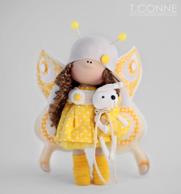 Мастер-класс по созданию куклы-бабочки. – 27 photos   VK