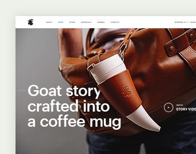 "Check out new work on my @Behance portfolio: ""Goat Story - website"" http://be.net/gallery/38742963/Goat-Story-website"