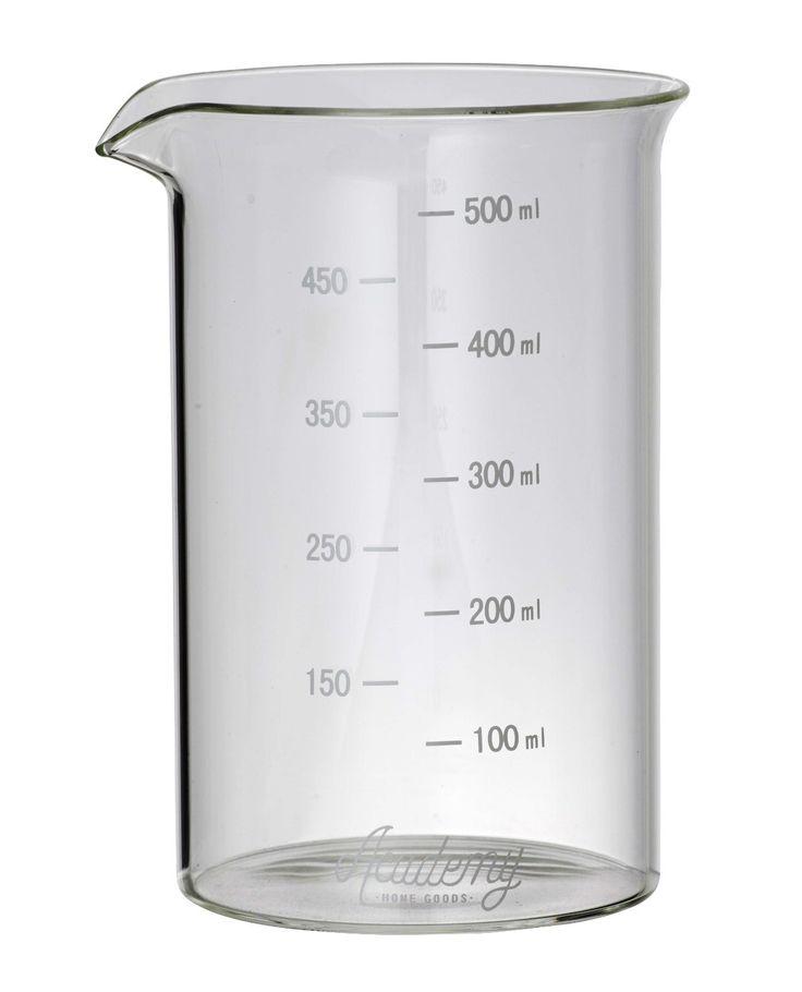 NEW HEMINGWAY BOROSILICATE GLASS MEASURING BEAKER Measure Cup 500ML