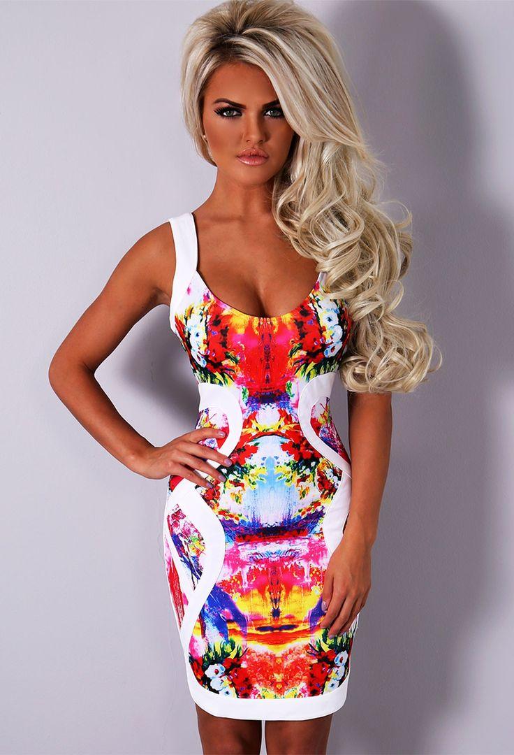 tropical dresses Sexy