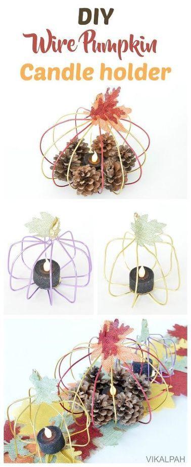 DIY провод держатель тыквы, свечи, рукоделие, каминные доски камина, домашний декор, декор стены
