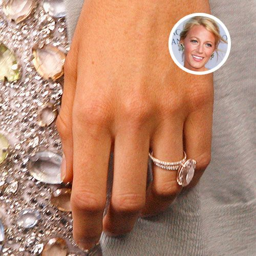 Blake Lively engagement ring.