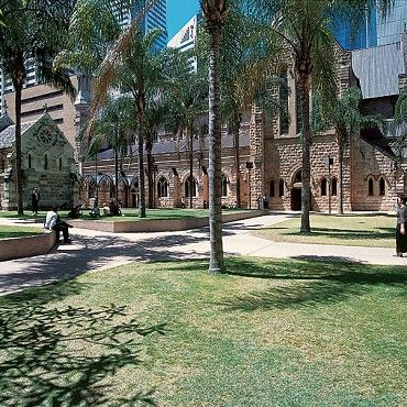 St Stephens Cathedral: The splendid gothic revival style cathedral of St Stephen is the centrepiece of a group of ecclesiastical buildings #boh2014 #unlockbrisbane #brisbane #discoverbrisbane