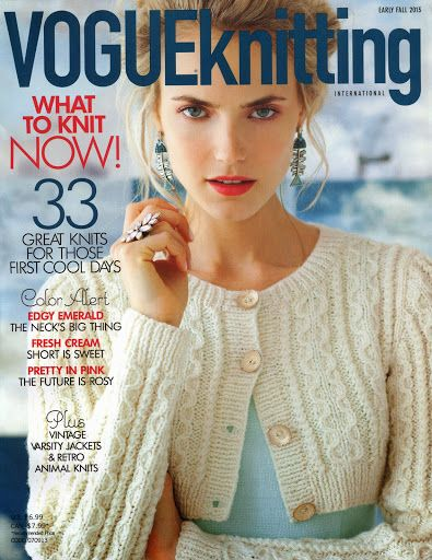 Vogue Knitting Early Fall 2013 - Monika Romanoff - Picasa Web Albums