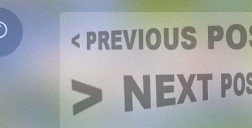 Membuat Navigasi Next-Prev Melayang Tanpa Javascript