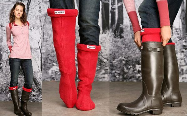 There are no better rainboots in the world than these wellies from Hunter.  Just ask the Queen.;)