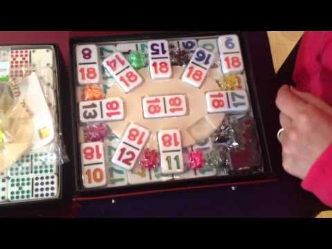Double 18 Dominoe Sets for Mexican Train Fun and Chicken Foot Game http://www.mexicantrainfun.com/double-18-numbers.html