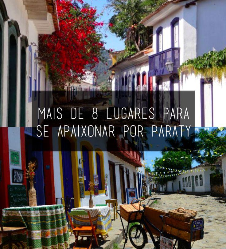 Seja por seu charmoso Centro Histórico ou por suas praias paradisíacas, Paraty vai te conquistar!