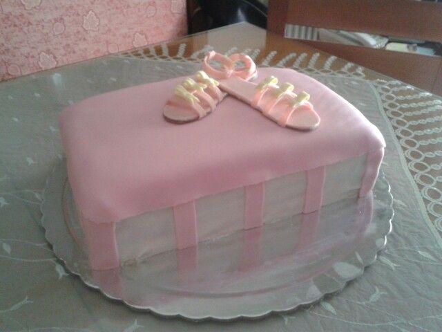 Shoe box cake!!!
