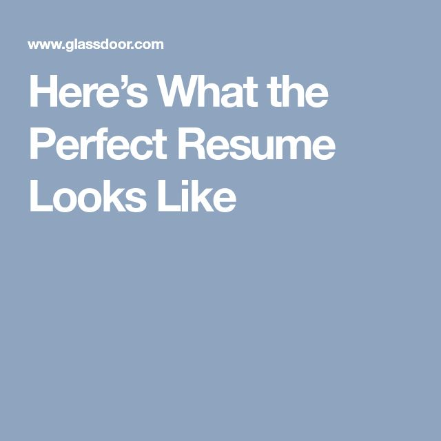 Best 25+ Perfect resume ideas on Pinterest Job search, Resume - upenn career services resume