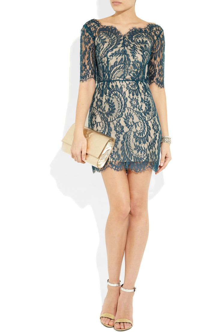 Lover Christina lace mini dress