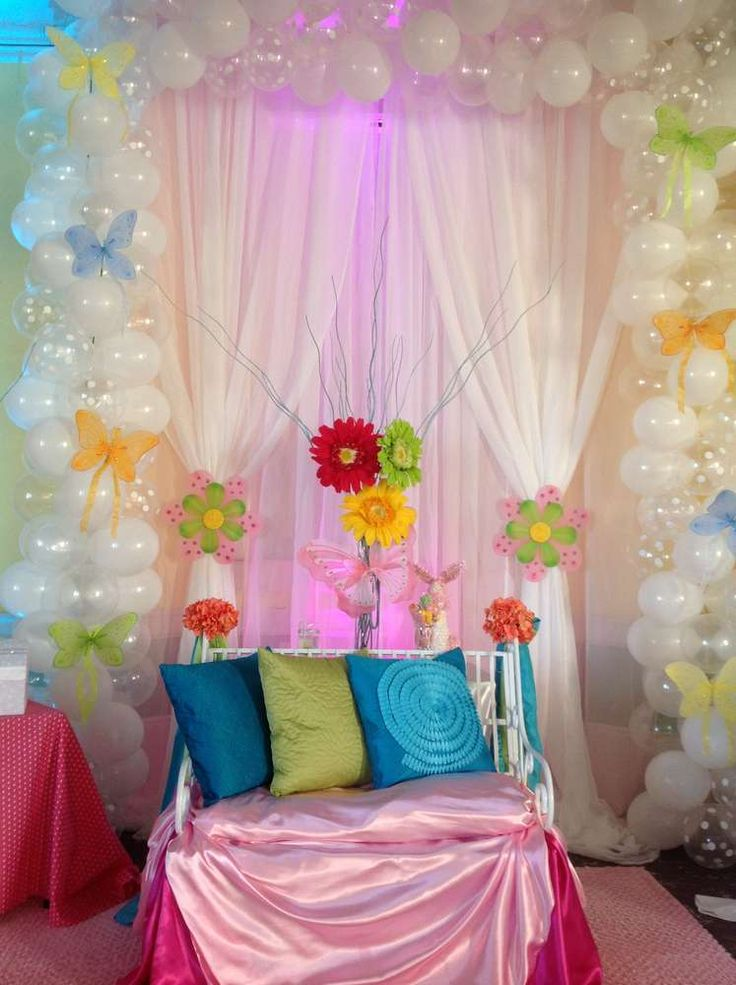 88 best images about party decorations on pinterest for Baby welcome party decoration ideas