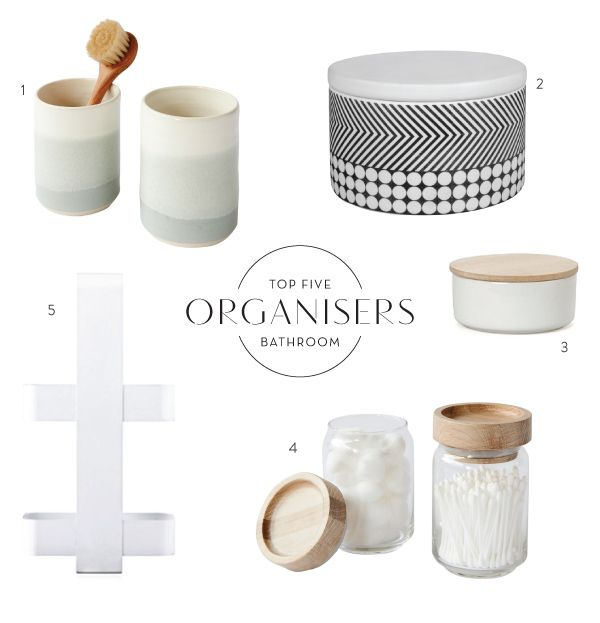 All Things Bathroom  Top Five Organisers   product edit by Simone Haag    Hecker Guthrie  layout by Jess Lillico. 17 Best ideas about Bathroom Organisers on Pinterest   Ikea