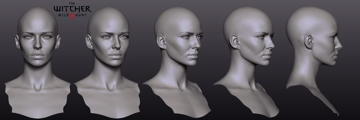 Paweł Mielniczuk is character art director at CD Projekt Red, developers of The Witcher series. In these images, you'll see some of the design process behind one of The Witcher 3's main characters, Yennefer.