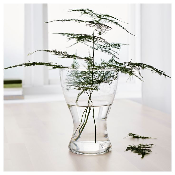 IKEA - VASEN Vase clear glass