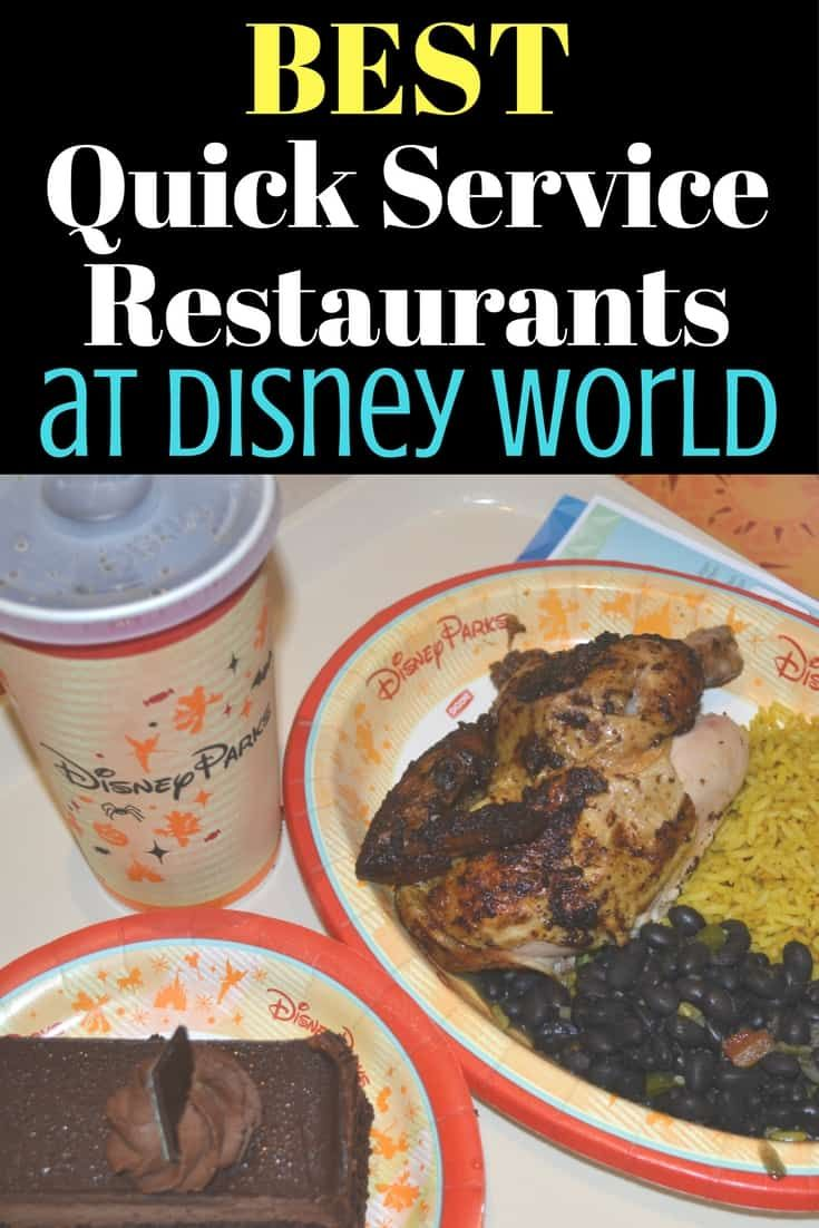If you are doing the quick service dining plan and want something other than burgers & fries, here are the restaurants you should be checking out via @disneyinsider