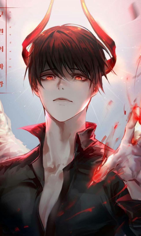 Картинки парней злых аниме