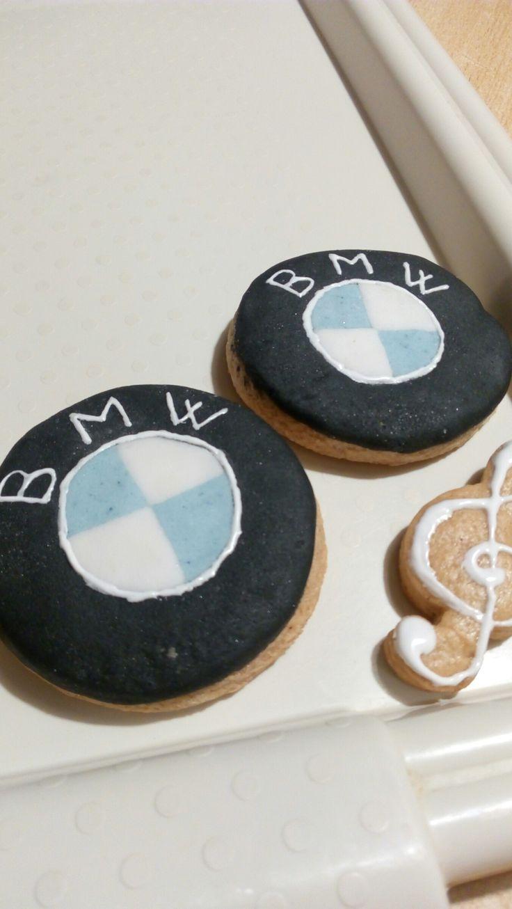 Medové vánoční perníčky cukroví BMW